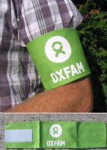Arm Band, 'Oxfam' - 20 pce